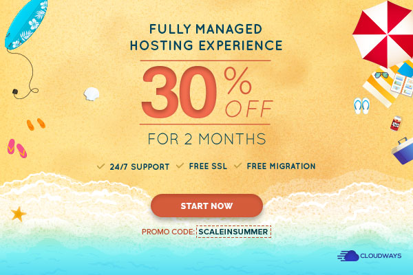 Save Now and Scale with Cloudways