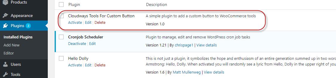 Custom Tool Plugin