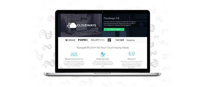 Cloudways Landing Page