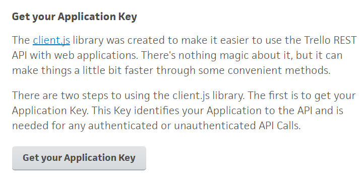 Application Key
