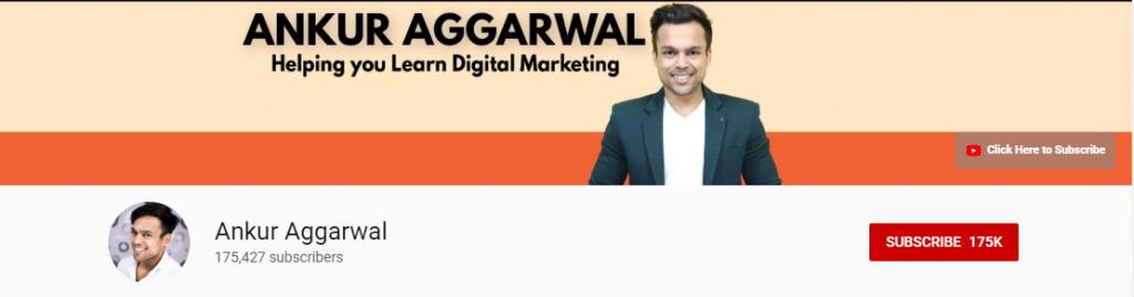 Amazon Affiliate: Ankur Aggarwal