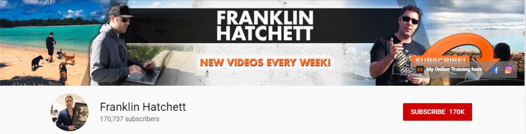 YouTube Influencer: Franklin Hatchett