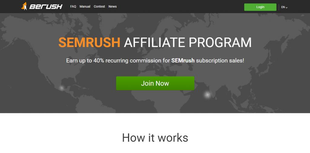 SEM rush Affiliate Program