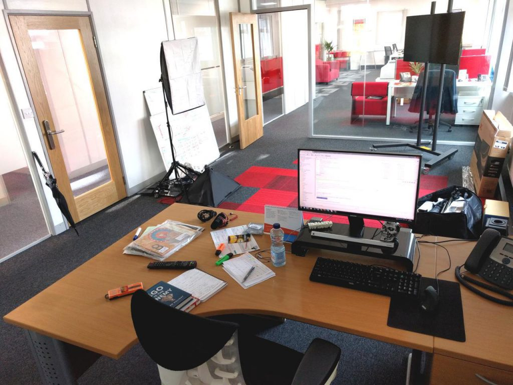 Ed Leake Office Space