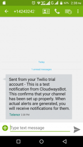 How to Get CloudwaysBot Alerts on SMS Using Twilio