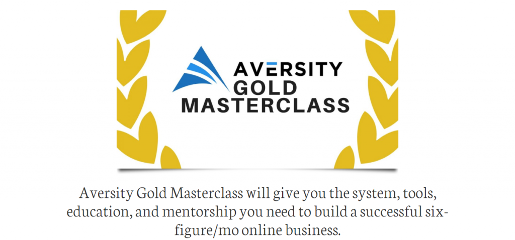 Aversity Gold Masterclass