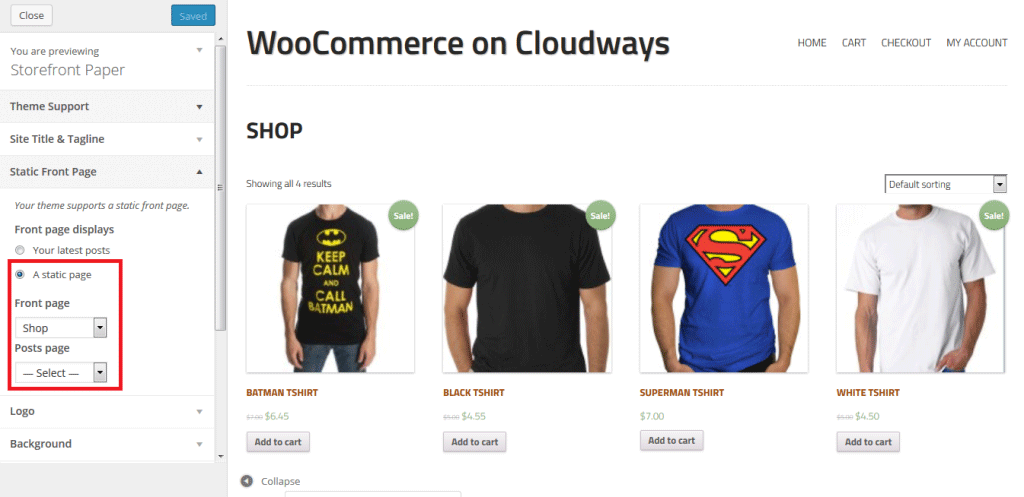 WooCommerce Preview