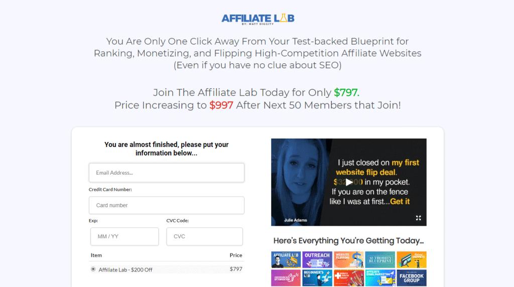 Affiliate Lab