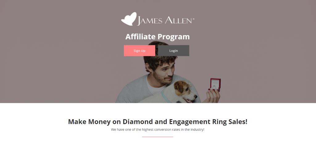James Allen affiliate program