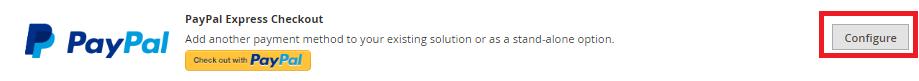 Magento Configure Paypal