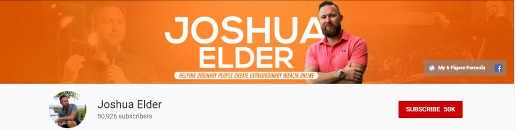 Affiliate Marketeer: Joshua Elder