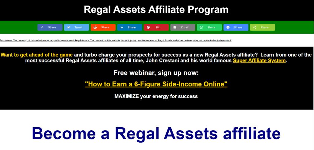 Regal Assets Affiliate Program