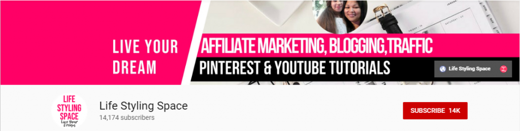 Affiliate Marketeer: Life Styling Space