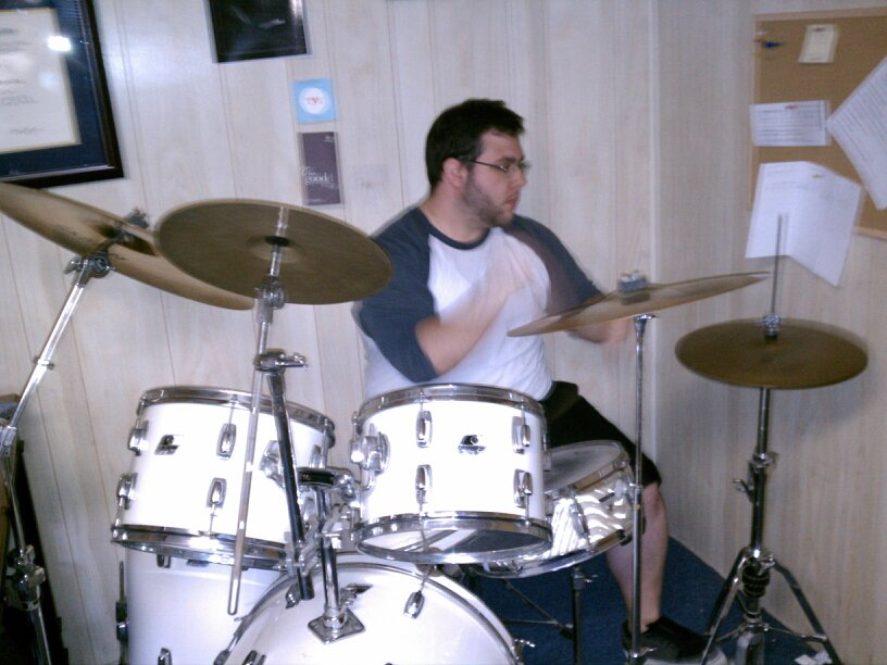 Playing Drum