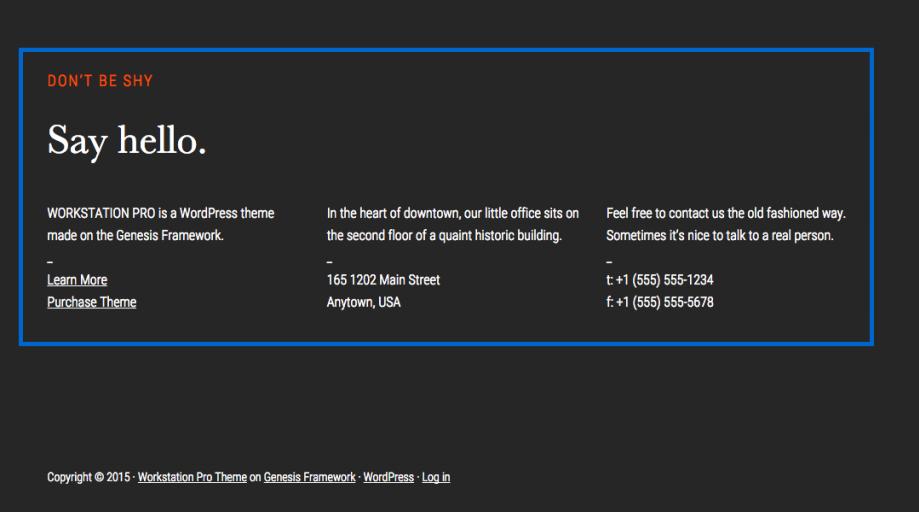 Genesis Framework's Advance Settings Guide