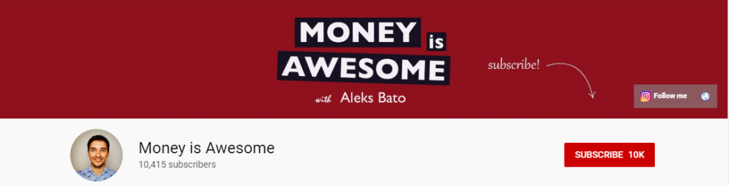 Affiliate Youtuber: Money Is Awesome