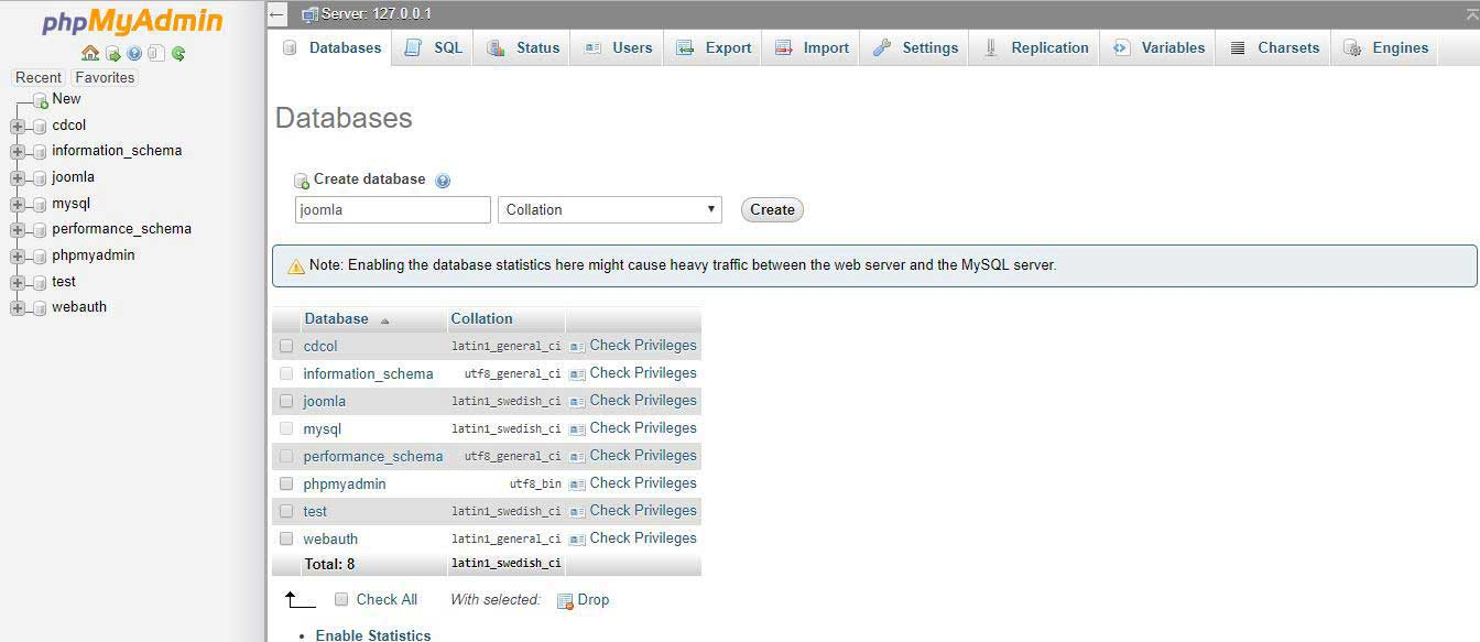 3-12 Ръководство за инсталиране на Joomla на Localhost