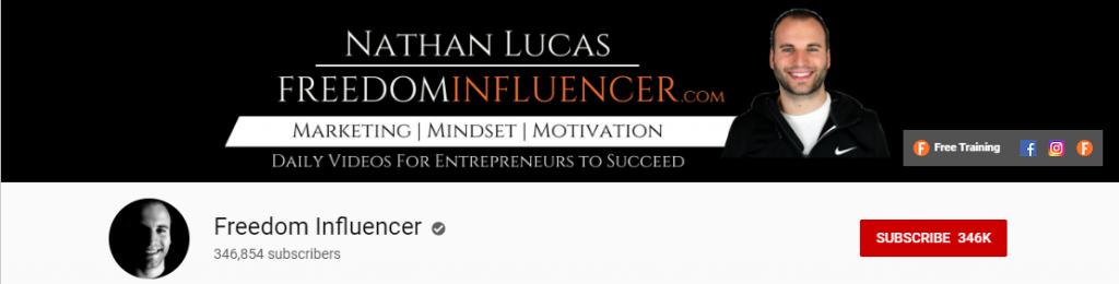 Affiliate Influencer: Nathan Lucas