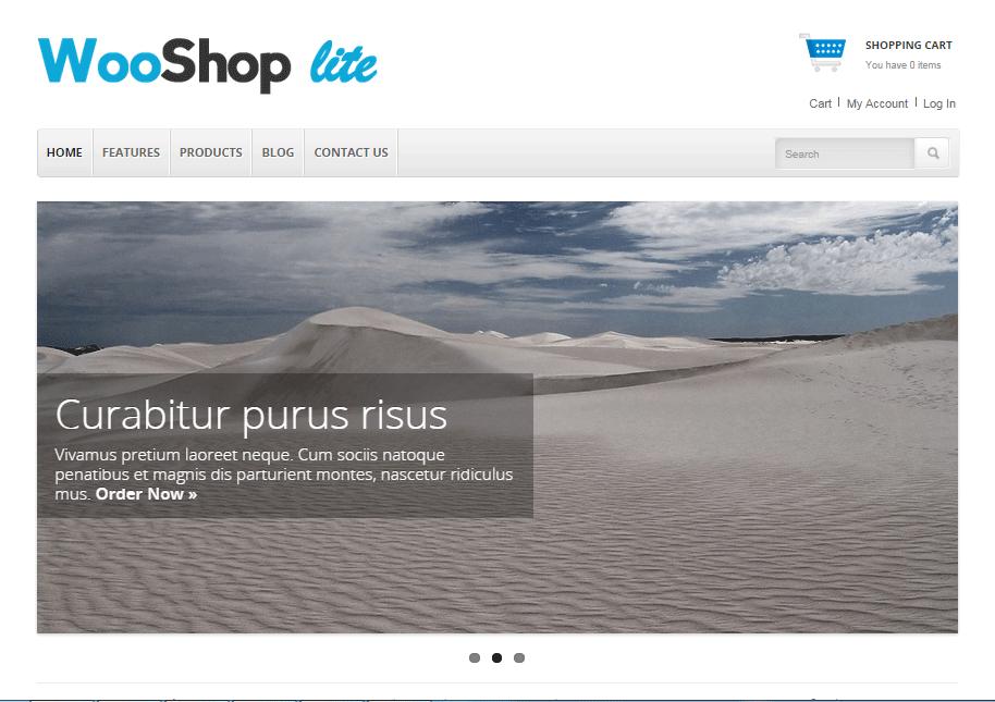 WooShop Lite WooCommerce Themes