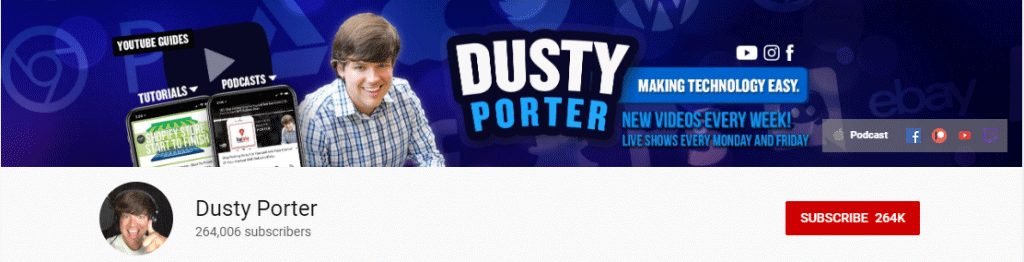 YouTube Influencer: Dusty Porter