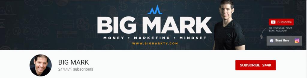Affiliate Influencer: Big Mark.