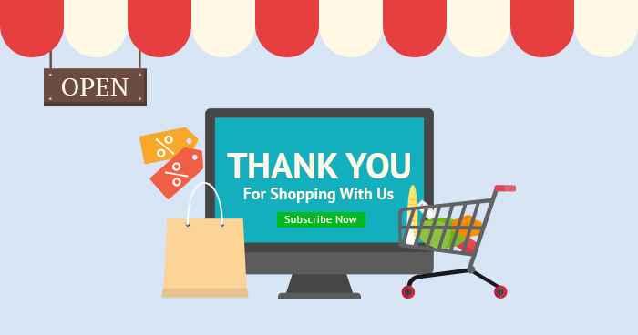 Ecommerce Thank You Page