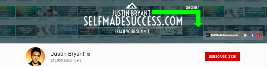 YouTube Influencer: Justin Bryant