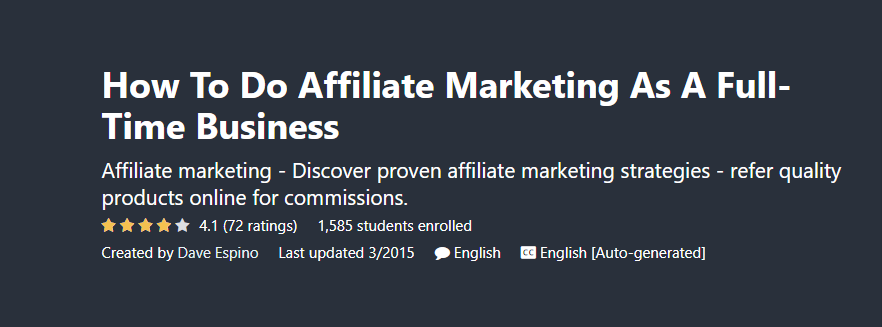 How To Do Affiliate Marketing As A Full-Time Business