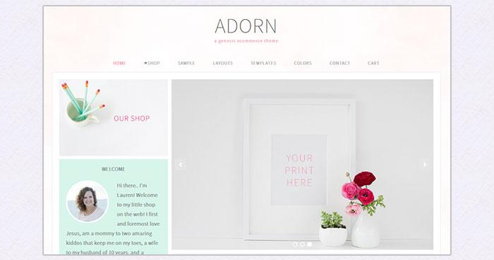 Adorn Woocommerce theme