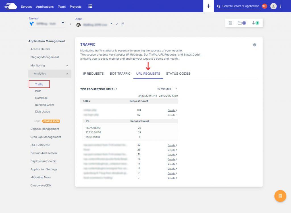 APM URL Requests
