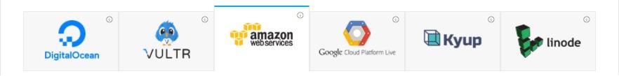 Select Amazon cloud