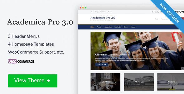 Academica Pro Education WordPress Theme