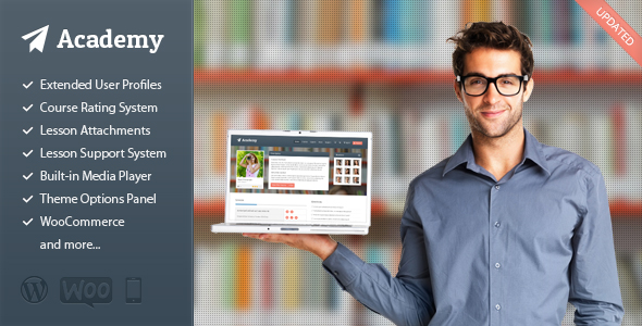 Academy Learning Management Theme