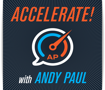 Acclerate Podcast for leaders