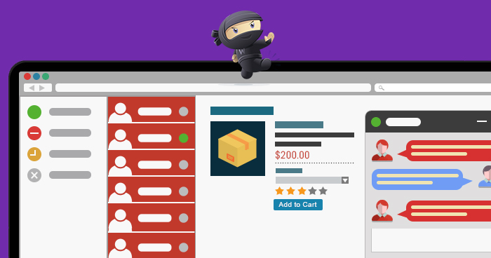 add live chat support in woocommerce
