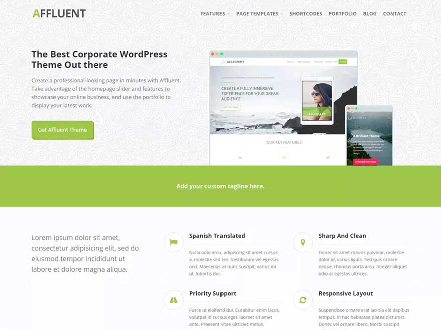Affluent by cpothemes