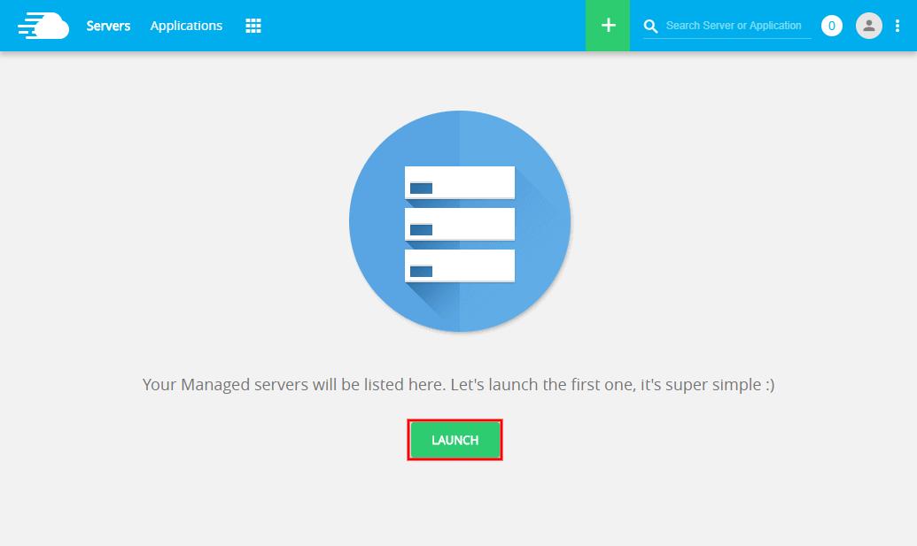 Amazon WordPress Hosting Server Launch
