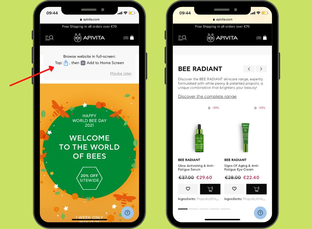 Apivita-Screenshot