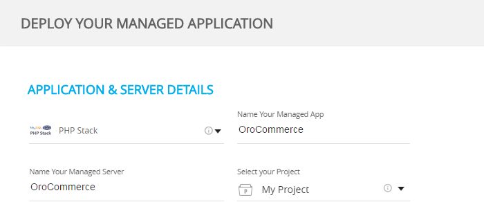 App and Server Details