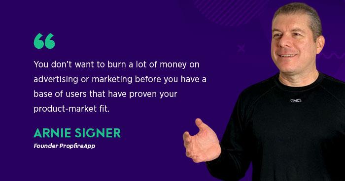 Arnie Singer Propfire Interview