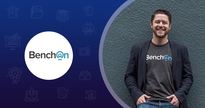 BenchOn Tim Walmsley startup success story