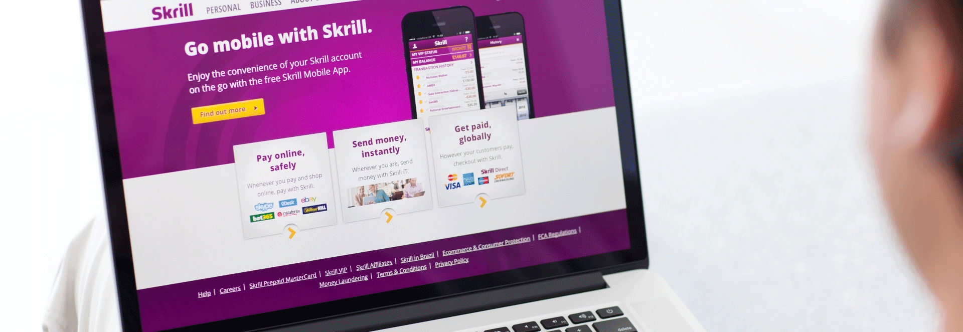 Best Payment gateways - Skrill