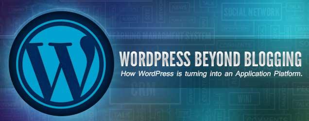 wordpress application platform