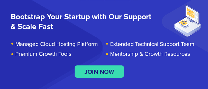 Bootstrap Cloudways Startup Program
