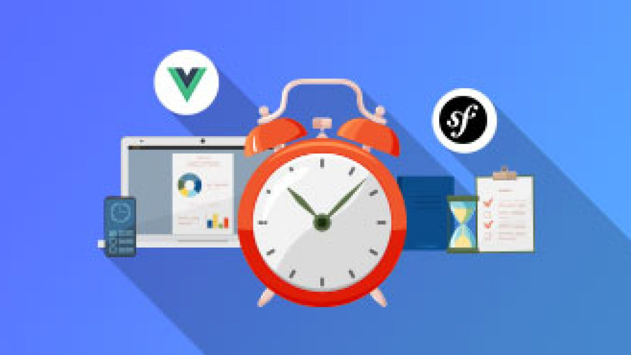 Creating Time Tracking System in PHP Symfony and Vue