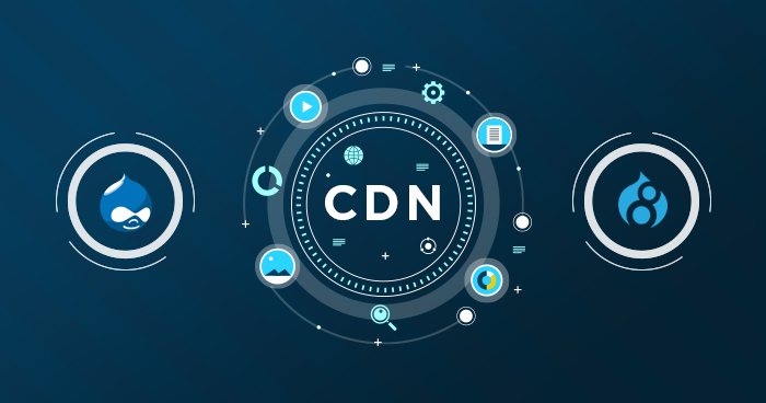 Add CDN to Drupal 7 and 8