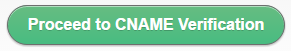 CNAME Verification
