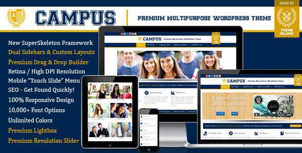 Campus Multipurpose WordPress Theme