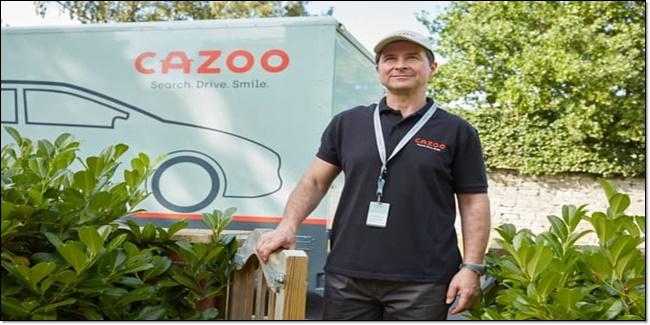 Cazoo Ecommerce startup