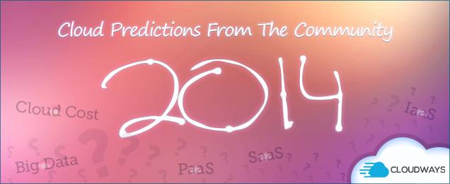 Cloud Predictions 2014